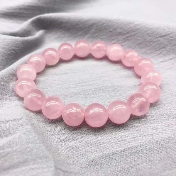 Bracelet en perles de quartz rose 408 600x600