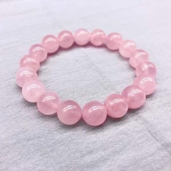 Bracelet en perles de quartz rose 583 600x600